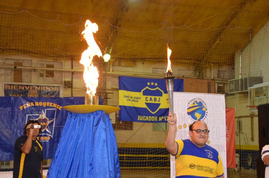 Gran inauguración del Torneo Nacional de Fútbol 5 de Olimpíadas Especiales Argentina