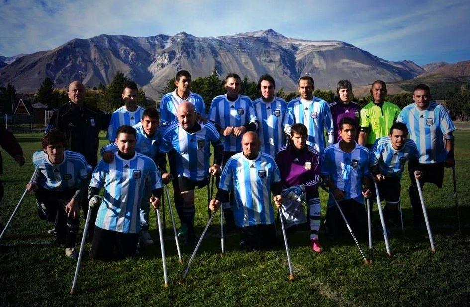 Fútbol para amputados: Argentina jugará la Copa Confederaciones