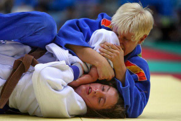 Así se compite en el judo adaptado