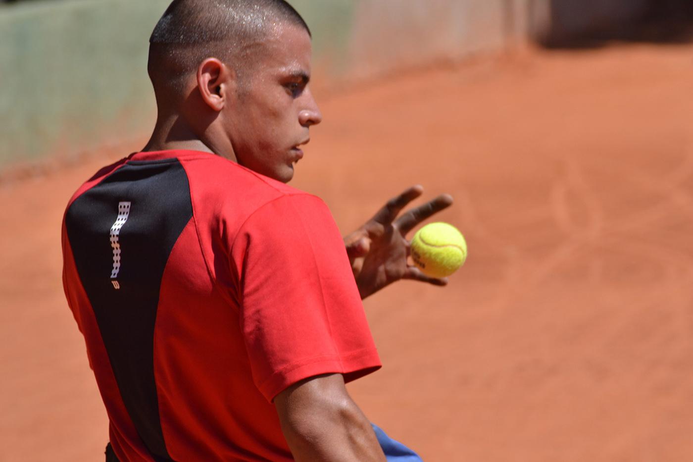 "Ezequiel Casco: ""Mi objetivo es jugar un buen tenis"""