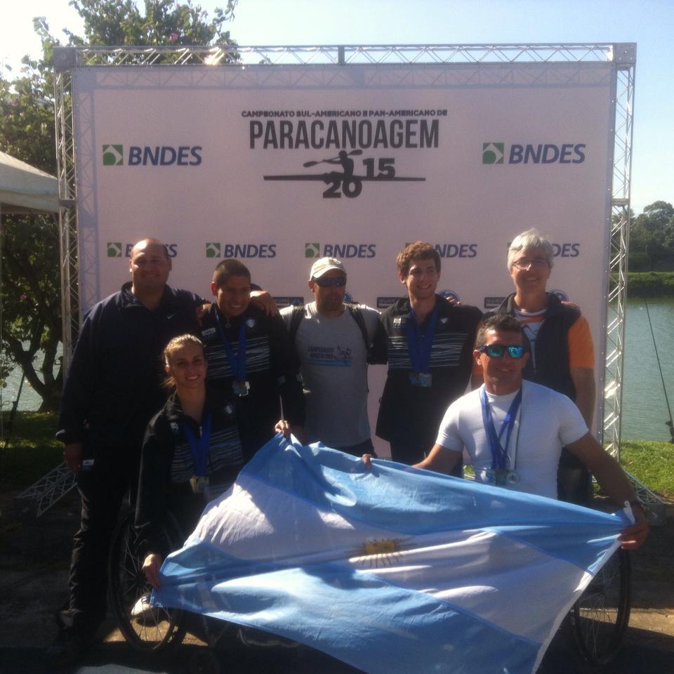 Paracanotaje: doce medallas para el equipo argentino en San Pablo