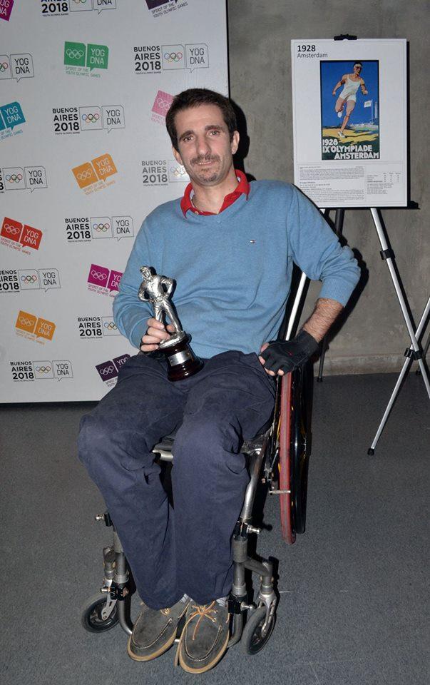 Quad Rugby: Juan Foa, ganador de los Newbery