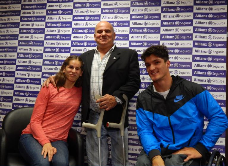 Allianz mostró su apoyo a los atletas del COPAR antes de Toronto