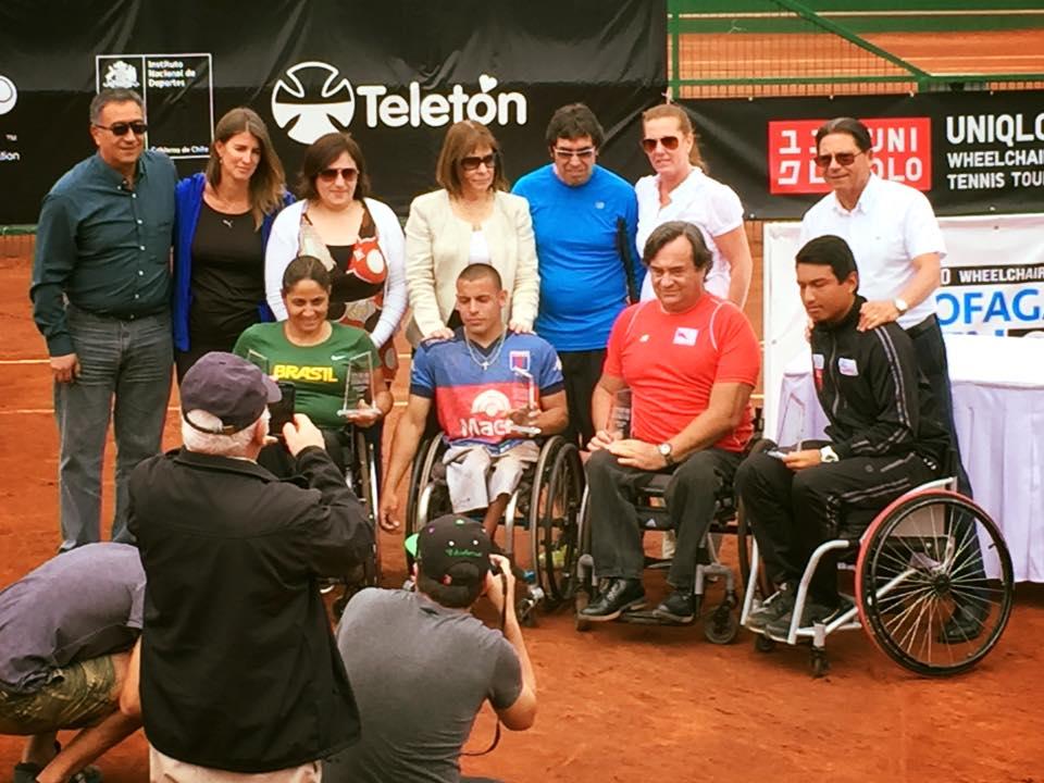 Tenis adaptado: Ezequiel Casco, campeón en Chile
