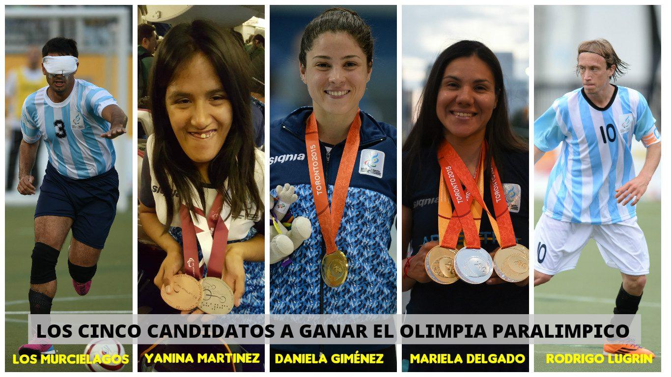Ya están los cinco candidatos en la categoría paralímpica