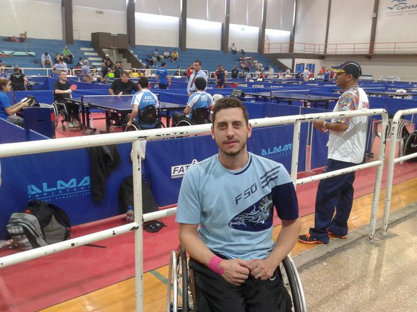 Tenis de mesa adaptado: segundo puesto para Depergola en la Copa Tango