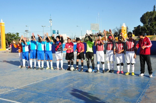 Se define el Campeonato Nacional de fútbol para ciegos