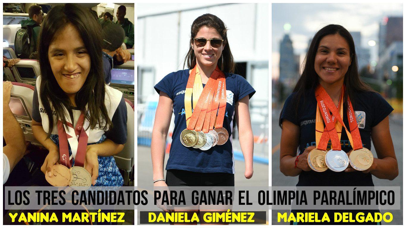 Premios Olimpia: Tres para triunfar