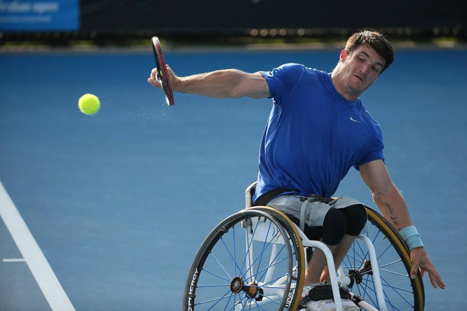 Tenis adaptado: Fernández no pudo ante el número uno