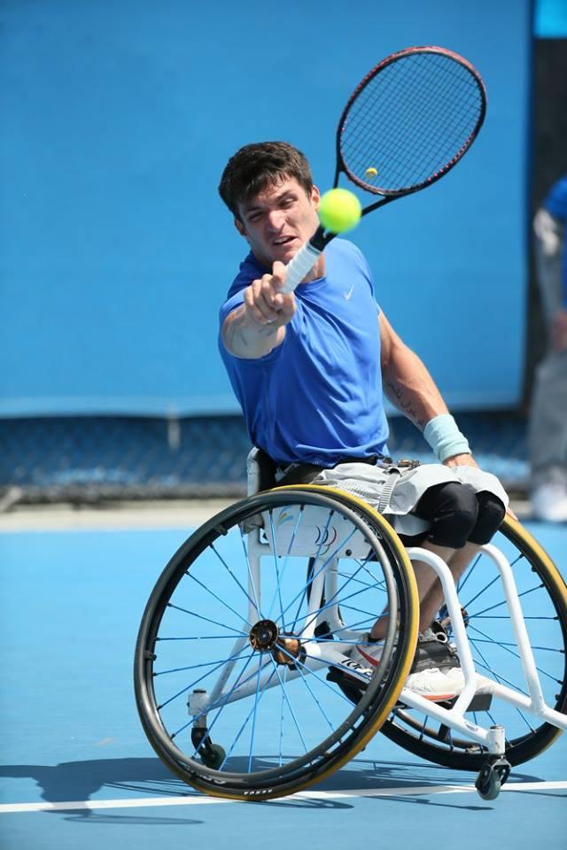 Tenis adaptado: Fernández le dijo adiós a Australia