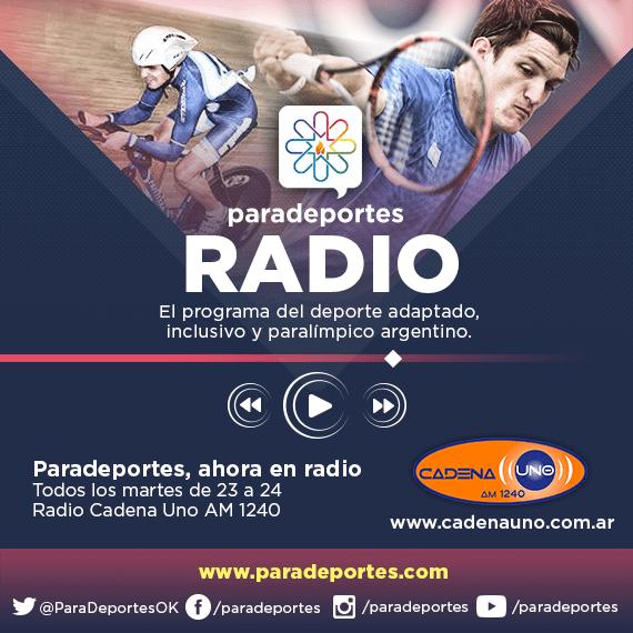 Paradeportes Radio cumple 25 programas. Hoy, desde las 23, por AM 1240
