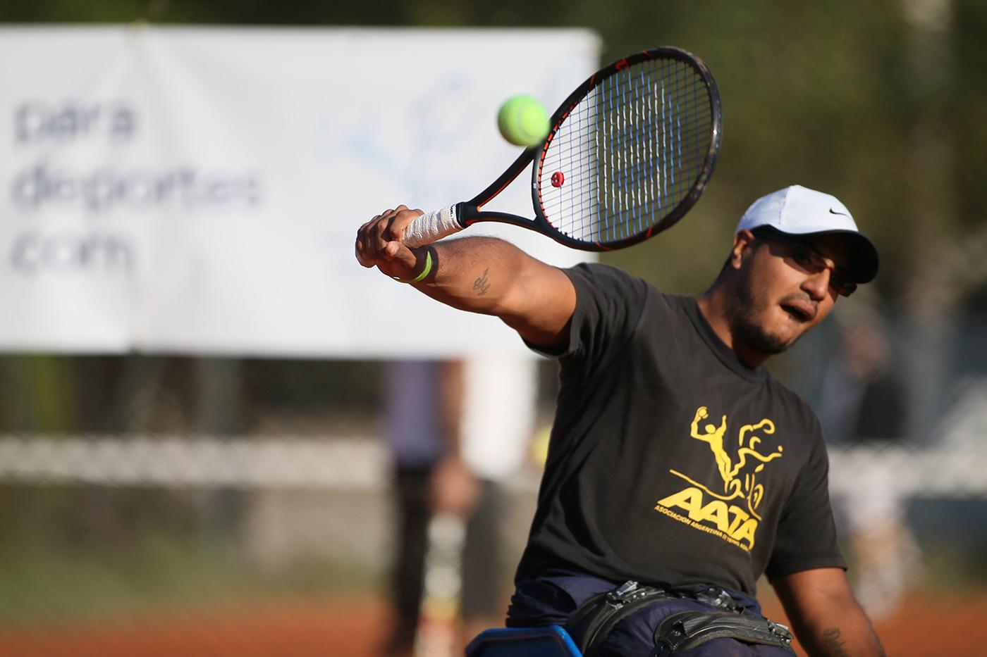 Tenis adaptado: Ledesma llegó hasta semifinales en Polonia
