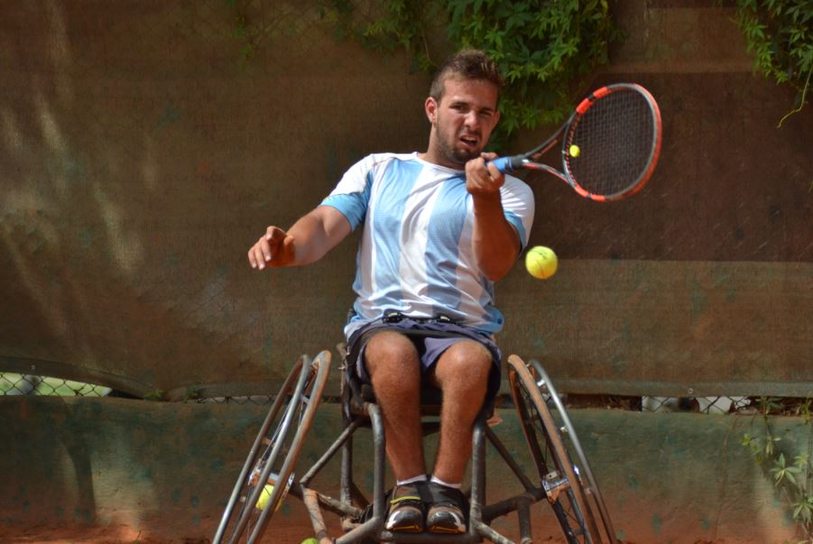 Tenis adaptado: debut con victoria para Palacio en Polonia