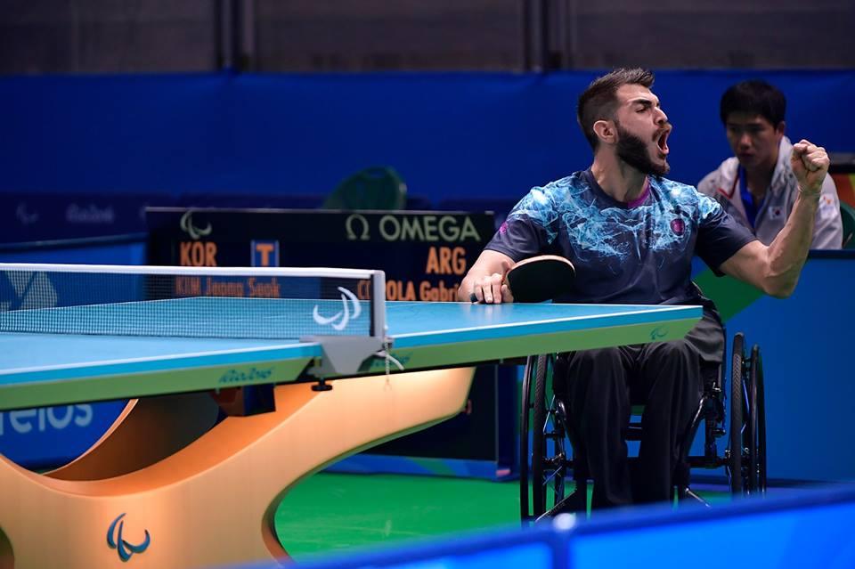 Tenis de mesa adaptado: Copola, otra vez top ten mundial