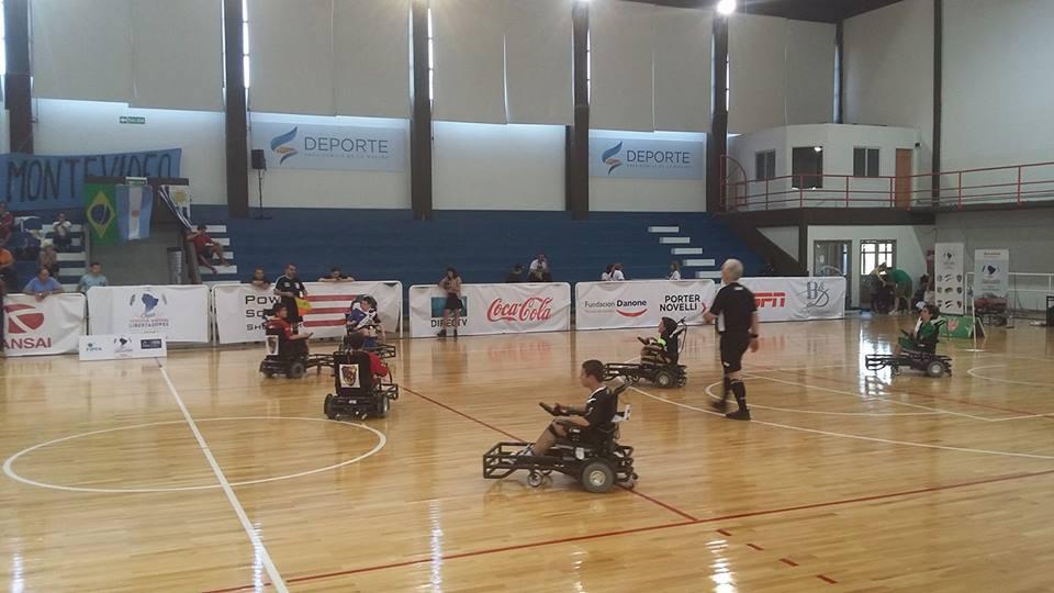 Powerchair football: Huracán de Carrasco, campeón de la Copa Libertadores