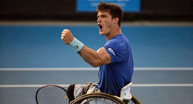 Tenis adaptado: Gustavo Fernández empezó el 2017 con un triunfo