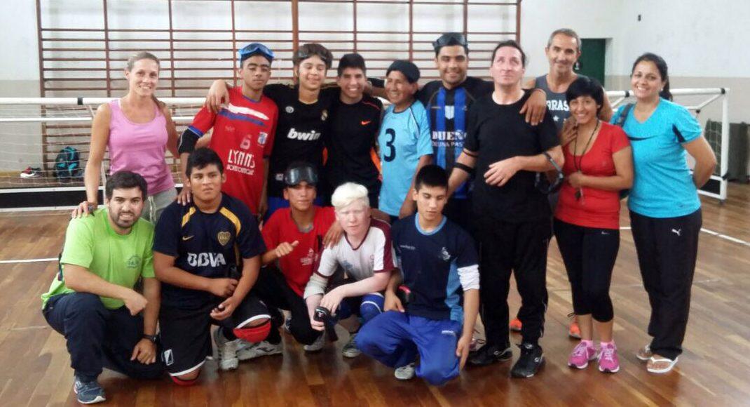 Goalball: la selección juvenil se concentró en el Instituto Rosell