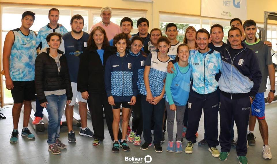 Atletismo: la Selección se concentró en Bolívar