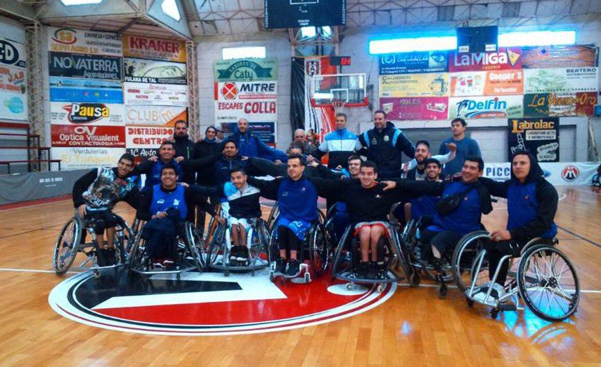 Básquet: la Selección se concentró en La Varillas