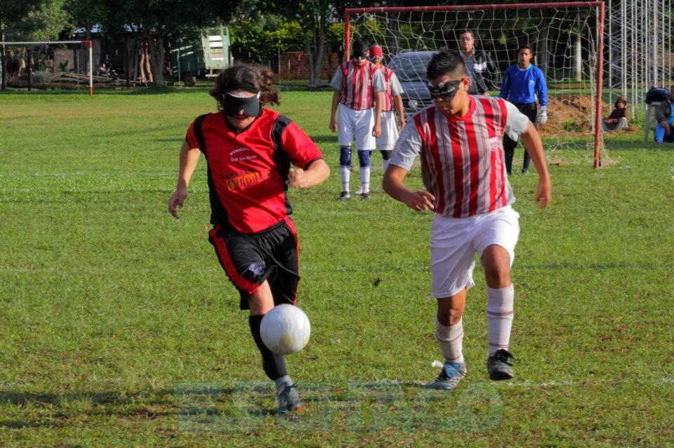 Fútbol para ciegos: arranca la Zona Noreste de la Liga Nacional